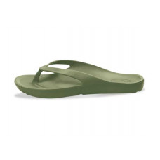 Orthotic Thongs Military Green Laguna